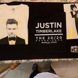 Justin Timberlake  20/20 Tour VIP package.